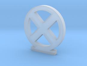 X-Men Logo in Smooth Fine Detail Plastic