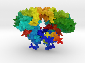 Hermes DNA Transposase in Full Color Sandstone