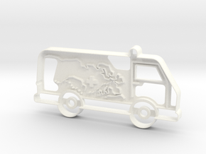 Stanbulance Cookie-cutter in White Processed Versatile Plastic