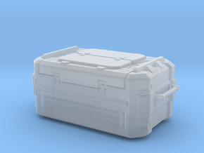 SciFi Cargo container in Smooth Fine Detail Plastic