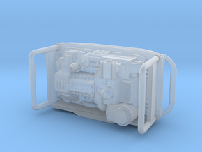 Portable Power Generator 1/24 scale in Smooth Fine Detail Plastic