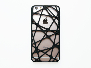 iPhone 6 plus / 6S plus Case_Cross in Black Natural Versatile Plastic
