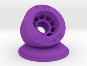 Roller Derby Best Jammer Trophy in Purple Processed Versatile Plastic