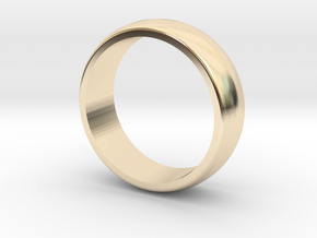 Classic wedding band - 5 mm wide (various sizes) in 14K Yellow Gold: 3 / 44