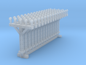 1:400 Runway Approach Lights 15pc in Frosted Ultra Detail
