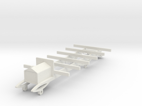 o-32-wolseley-siddeley-railcar-chassis in White Natural Versatile Plastic