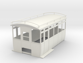 0-43-wolseley-siddeley-railcar-body-1 in White Natural Versatile Plastic