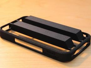 Hide-Away Case for iPhone 4/4S in White Natural Versatile Plastic