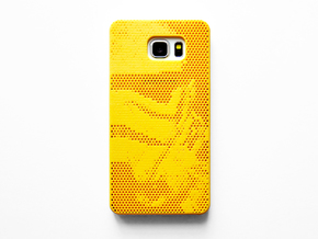 Samsung Galaxy Note 5 case_Stormtroopers in Yellow Processed Versatile Plastic