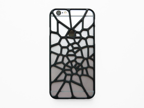 iPhone 6 / 6S case_Cell Division in Black Natural Versatile Plastic