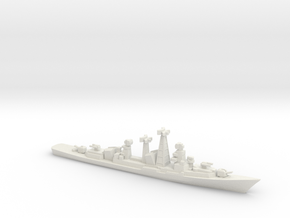 Kashin-class destroyer (1962), 1/1250 in White Natural Versatile Plastic