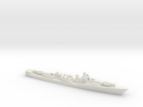 Krupny-class Destroyer, 1/1250 in White Natural Versatile Plastic