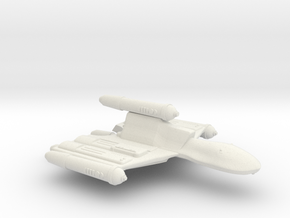 3788 Scale Romulan OmniHawk Light Dreadnought MGL in White Natural Versatile Plastic