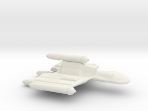 3125 Scale Romulan OmniHawk Light Dreadnought MGL in White Natural Versatile Plastic