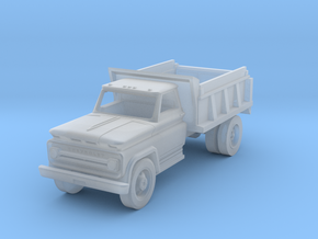 HO scale Dump Truck, WOT#30201 in Frosted Ultra Detail