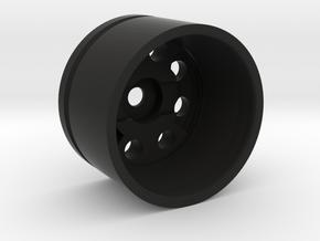 MHS 28mm Bass Speaker Holder in Black Natural Versatile Plastic