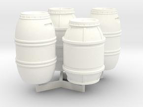 1:43 DEAGO FALCON YT1300 ANH CARGO BARREL SET TC.1 in White Processed Versatile Plastic