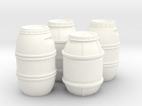 1:43 DEAGO FALCON YT1300 ANH CARGO BARREL SET TB.2 in White Processed Versatile Plastic