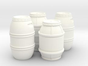1:43 DEAGO FALCON YT1300 ANH CARGO BARREL SET TC.2 in White Processed Versatile Plastic