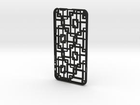 iPhone 6 plus / 6S plus Case_Connection in Black Premium Versatile Plastic