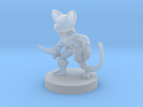 Mousefolk Rogue in Smooth Fine Detail Plastic
