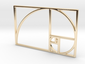 Golden Ratio in 14K Yellow Gold