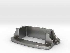 Brake Coupler Pocket in Natural Silver
