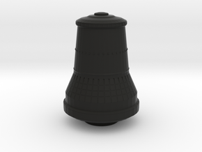 Die Glocke / The Bell in Black Natural Versatile Plastic: 6mm