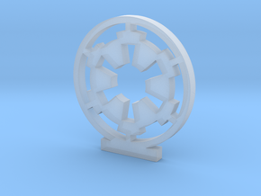 Galactic Empire Logo in Smooth Fine Detail Plastic