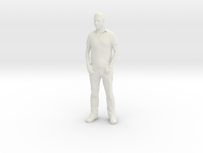 Printle F Jensen Ackles - 1/12 - wob in White Natural Versatile Plastic