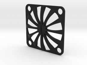 Fan Guard 30x30mm in Black Natural Versatile Plastic