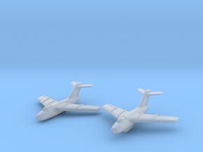 Lavochkin La-15 Fantail (2 planes set) 1/285 6mm in Smooth Fine Detail Plastic