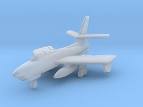 Republic XF-91 Thunderceptor 6mm 1/285 in Smooth Fine Detail Plastic