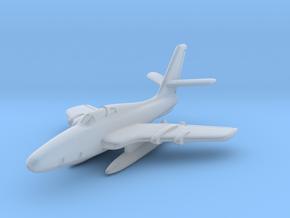 Republic RF-84F Thunderflash (In Flight) 6mm 1/285 in Smooth Fine Detail Plastic