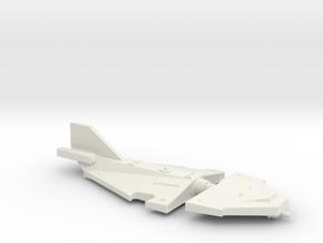 Omni Scale Juggernaut Frigate (FF) SRZ in White Natural Versatile Plastic
