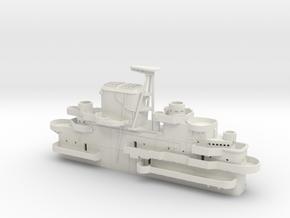 1/144 USS Yorktown CV-10 Island 1944-1945 in White Natural Versatile Plastic