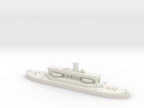 HMAS Cerberus 1/2000 in White Natural Versatile Plastic