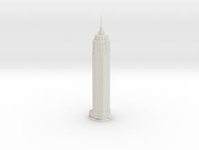 The Pinnacle (1:2000) in White Natural Versatile Plastic