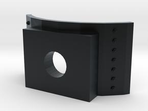 Boiler Lowering Cylinder Saddle for MDC HOn3 Kits in Black Hi-Def Acrylate