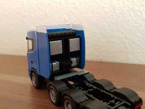 02 221 Schwerlastturm Scania S730 in Smoothest Fine Detail Plastic
