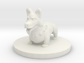Corghound 1: Tinkels (Small Fiend) in White Natural Versatile Plastic