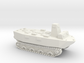 WWII Japanese Ka-Tsu tank 1:72 - without Torpedos in White Natural Versatile Plastic