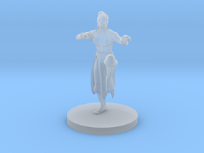 Human Female Monk in Smooth Fine Detail Plastic