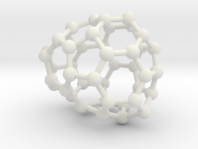 0644 Fullerene c44-16 c1 in White Natural Versatile Plastic