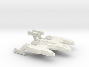 3125 Scale LDR Cave Lion Battleship (BB) CVN in White Natural Versatile Plastic