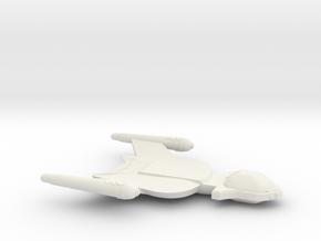3788 Scale Romulan Shrike Light Dreadnought MGL in White Natural Versatile Plastic