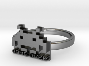 Game Over  in Polished Silver: 6 / 51.5