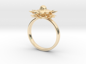 Sun in 14k Gold Plated Brass: 5 / 49