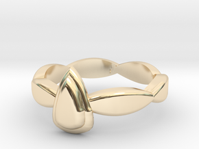 Gina_ERing-Size 5.5 in 14K Yellow Gold