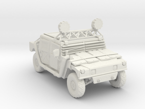 Wasteland Hummer - Variation A  in White Natural Versatile Plastic